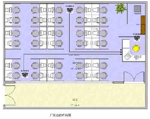 监控室设计平面图