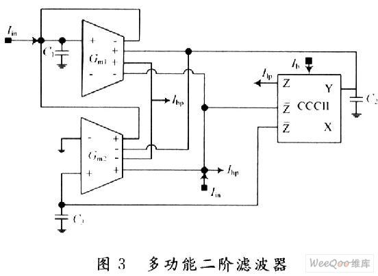 在输出端通过电流镜技术可以获得多个输出