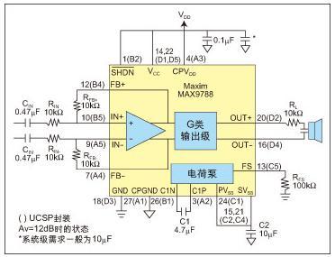 驱动陶瓷扬声器的放大电路设计考虑
