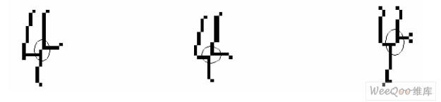 基于形体特征的手写体数字识别