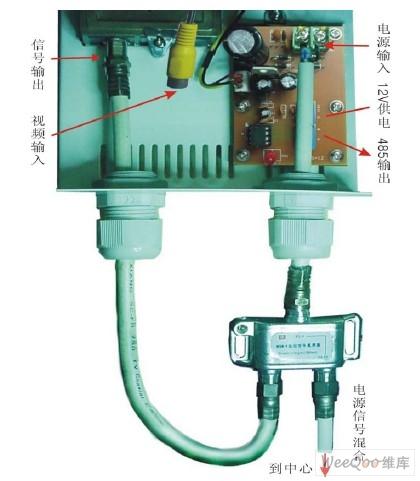 变压器的24v 交流输出端接云台的电源输入端