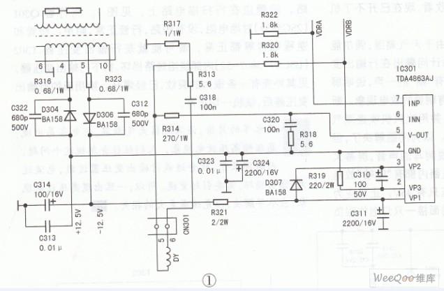 创维29ti9000(5p36机芯)彩电多故障检修