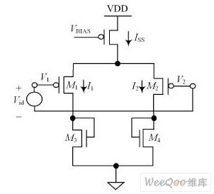 图4 差分放大器结构-降压型DC DC 转换器斜率补偿设计案例