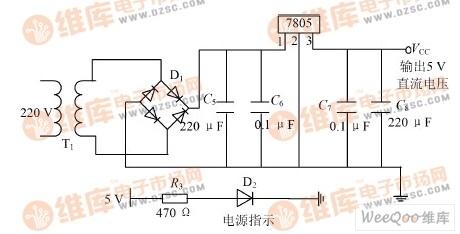 电源输入电路原理图