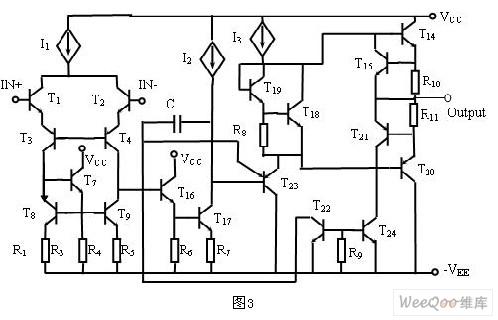 阅读运算放大器电路图的方法