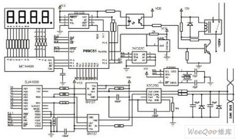 基于CAN系统数据采集的远程抄表图纸v系统绣花缝纫机总线图片