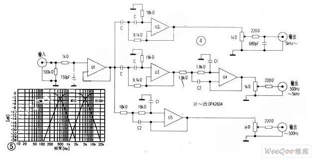多通道电子分频放大器的制作