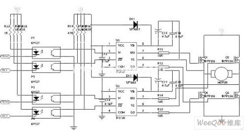 -2 电机驱动电路-采用PIC16F877的汽车电动助力转向系统图片