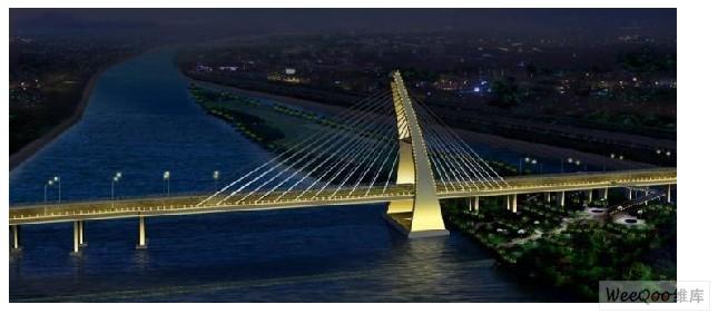 大桥风景图案片