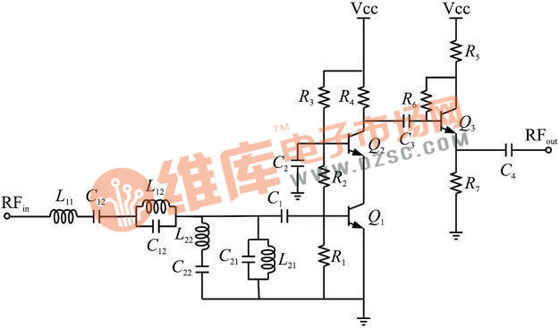 c4是理想的隔直电容.在1.8ghz和2