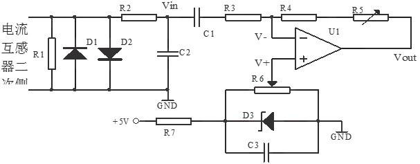 送入LPC2132内置的8路10位高速A/D转换输入端,对漏电电流的大小进行检测。   由于A/D转换为10位,当输入电压为5V时,输出数据值为1024(4FFH),因此最大分辨率为0.0049V(5V/1024)。若产生测试电流的回路电阻为12时,漏电电流的分辨率为0.4mA(0.0049V/12),完全满足测试需要。漏电保护器的漏电电流产生的开始信号和动、静触头断开信号分别送入LPC2132的外部中断输入端,采用中断的方式对漏电保护器动、静触头的分断时间进行检测。P0.