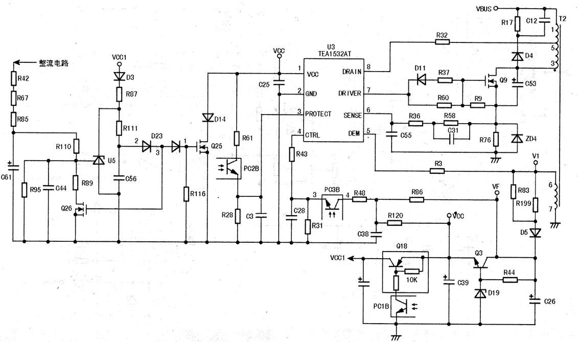 50型ip板电路原理分析与检修(一)