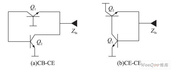 正有源电感电路结构
