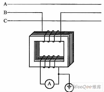 电流互感器内电路