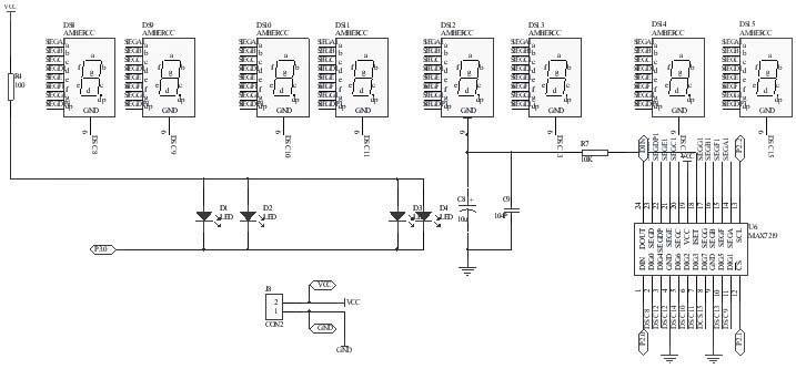 应用protel99se设计电子时钟印制板电路