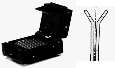 bga翻盖式老化测试插座的结构