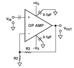 错误的交流耦合运算放大器电路-放大器电路设计中的常见问题 上图片