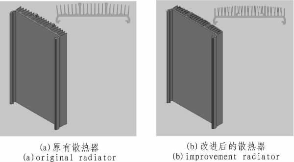 图5 散热器结构图