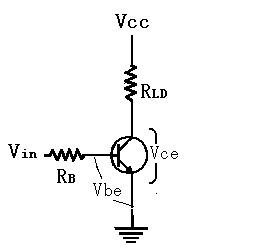 三极管开关电路,各主要测试电的电压图