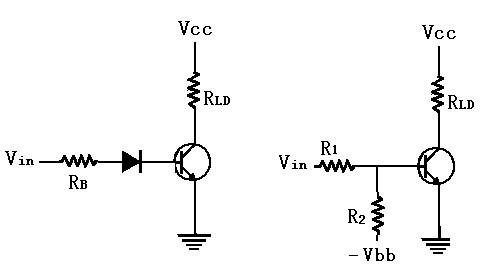 确保三极管开关动作,正确的两种改良电路