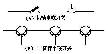 三极管开关与机械式开关电路