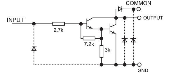 达林顿晶体管等效电路图