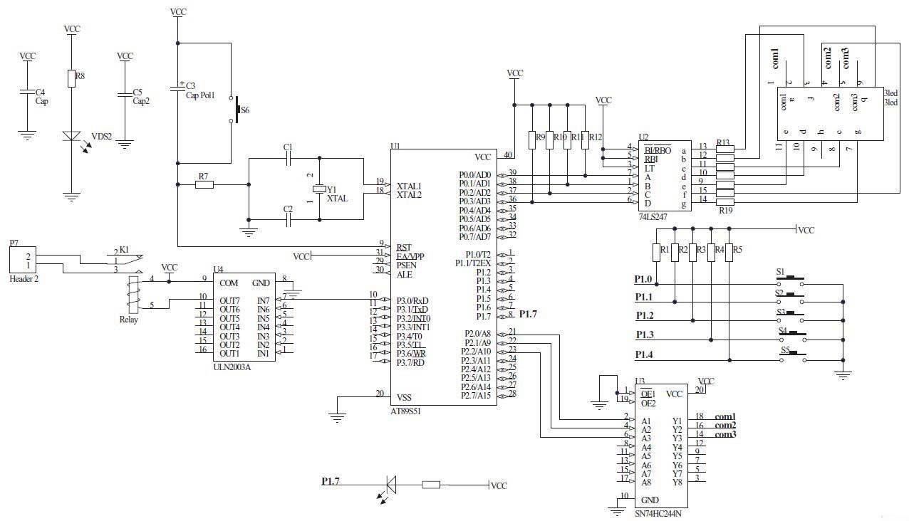 图2 电路原理图