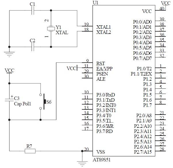 控制部分的主要工作原理就是利用了单片机内部的定时/ 计数器t 0