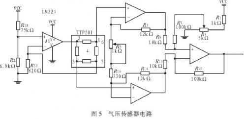 气压传感器设计:气压传感器用于对负压吸引器产生图片