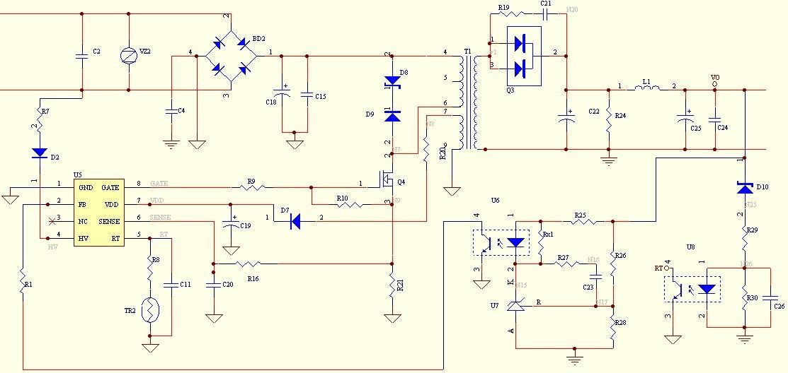 fan6754a 电路原理图