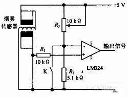 图2 烟雾传感器结构