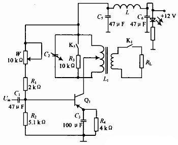 图5 贵重物品检测电路图