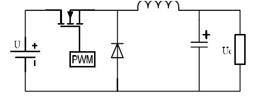 图 3 Bulk 降压斩波电路