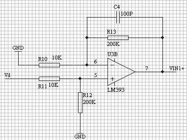 图 12 电压采样电路