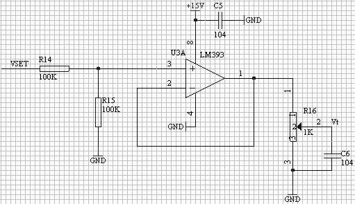 图 8 输入调节电路
