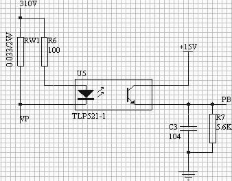 图 13 过流检测电路
