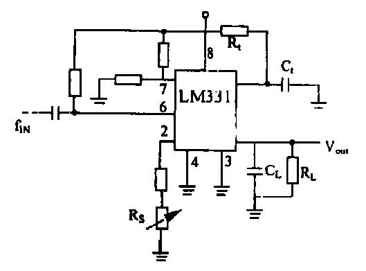��G�f�����v�_图7 f/v 转换电路