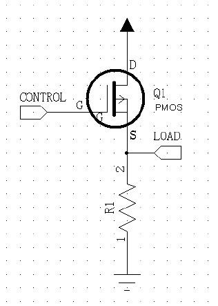 图3 PMOS 接线图