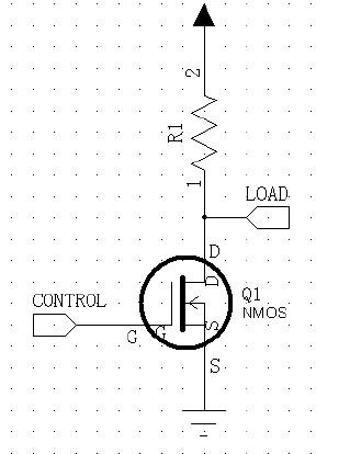 图2 NMOS 接线图