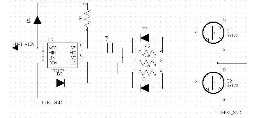 较大功率直流电机驱动电路的设计与实现