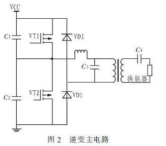 逆变主电路采用半桥式结构