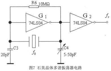 矩形脉冲信号电路