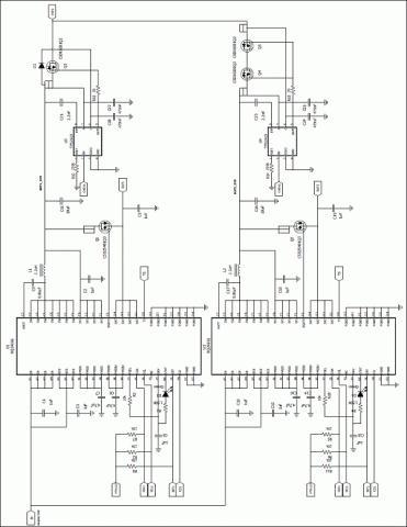 电路设计原理图   电路原理图中u1