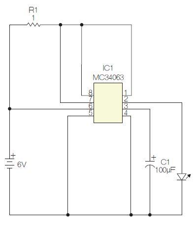 高亮度LED闪光灯标赋予开关稳压器新的用途