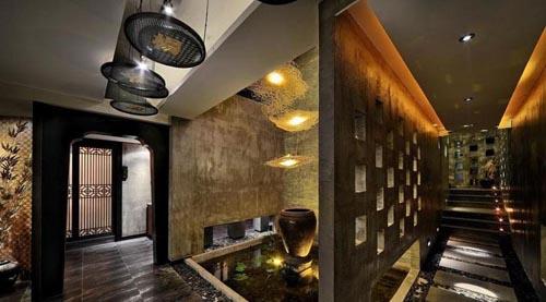 福州餐厅照明案例客家设计印象赏析玻璃瓶包装设计图片欣赏图片