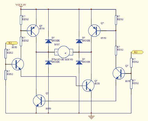 电机驱动电路原理图