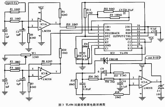 TL494在集成电路中的基础应用