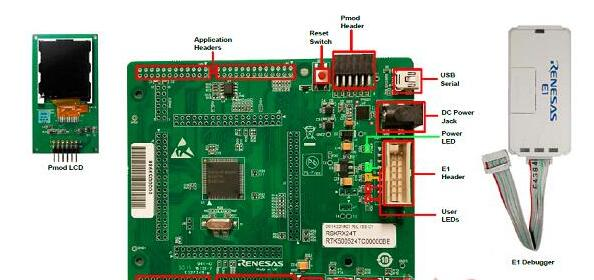 Renesas RX24T系列32位MCU开发方案