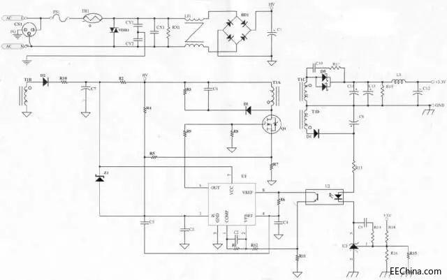 高手讲解电源原理图及各个元件的功能详解