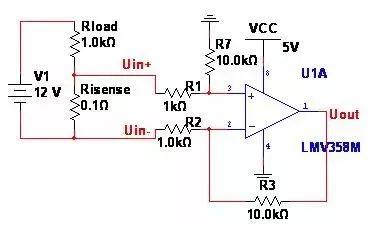 在电源及电机控制中常用到过流保护功能